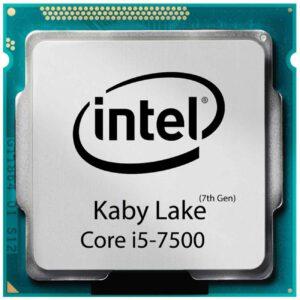 CPU INTEL i5 7500