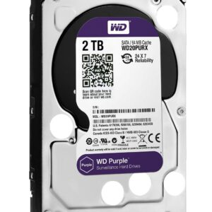 هارد دیسک اینترنال وسترن (2T)Purple WD