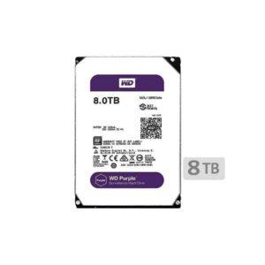 هارد دیسک اینترنال وسترن (8T)Purple WD