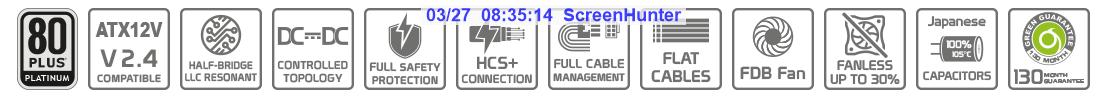 گواهینامه های پاور گرین GP650B-OCPT