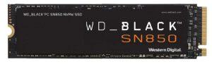 WD Black SN850.