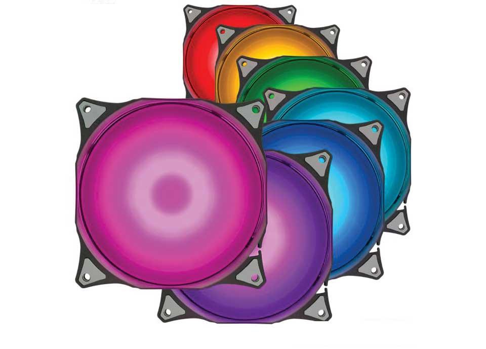 فن کیس RGB