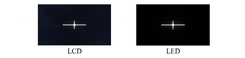 تفاوت LED LCD