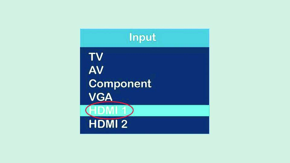 نحوه اتصال لپ تاپ به تلویزیون