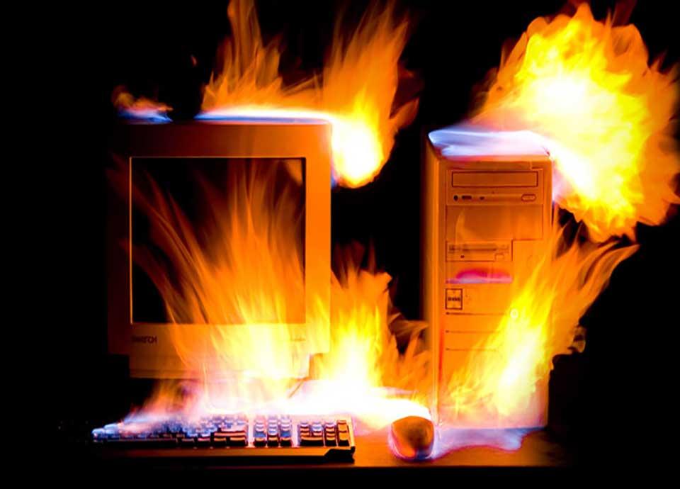 دلایل داغ شدن کامپیوتر