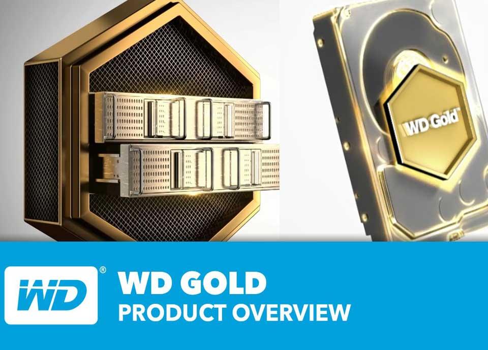 هارد دیسک طلایی وسترن دیجیتال