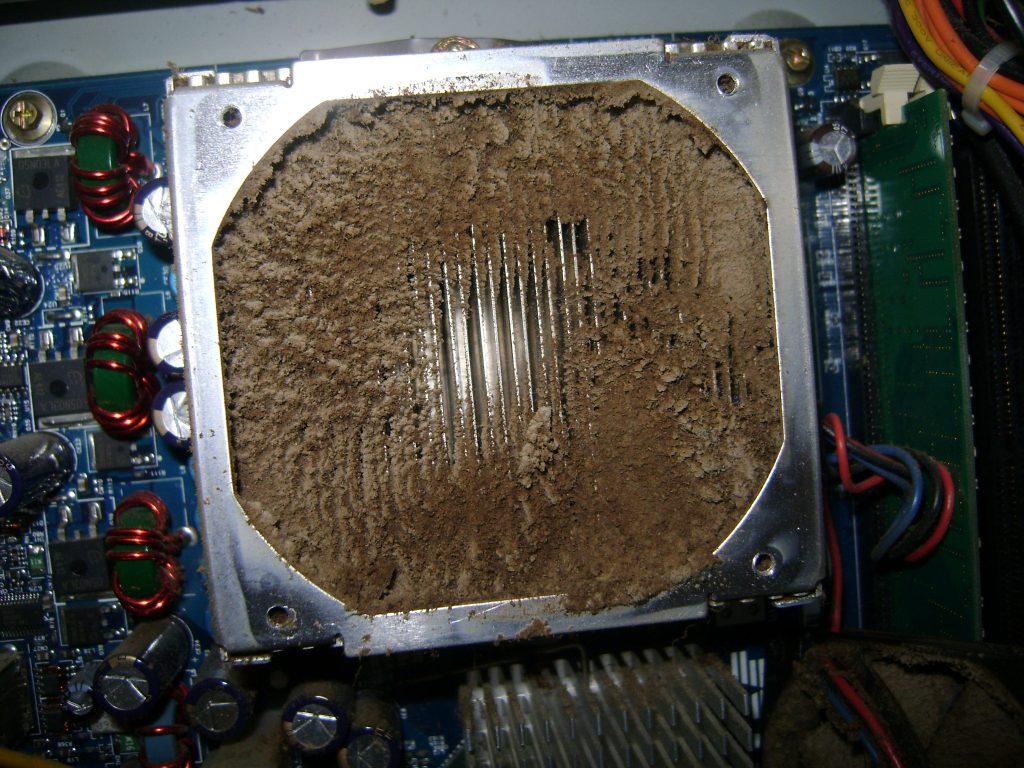 داغ شدن کامپیوتر