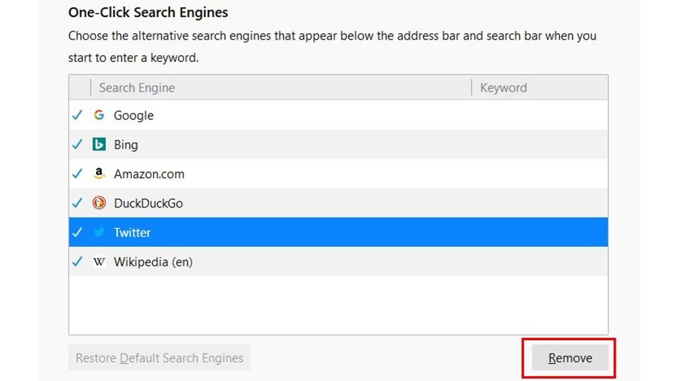 تغییر موتور جستجوی پیش فرض در مرورگر