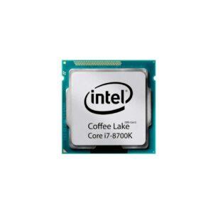پردازنده اینتل CPU INTEL i7-8700K TRAY