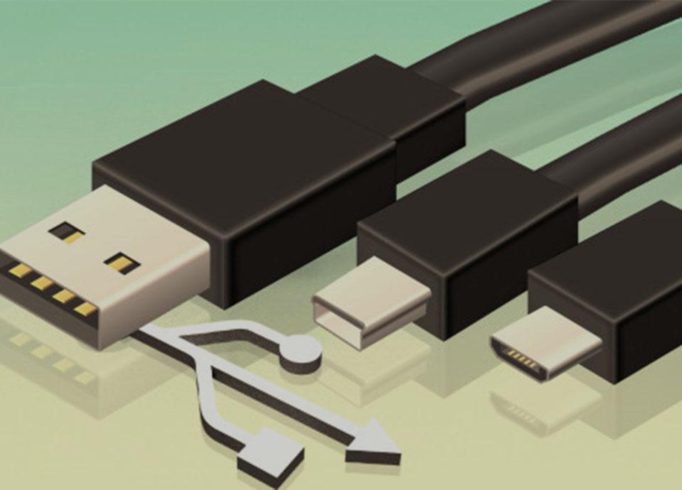 توان خروجی درگاه های USB