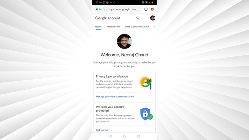 حذف سابقه جستجو گوگل