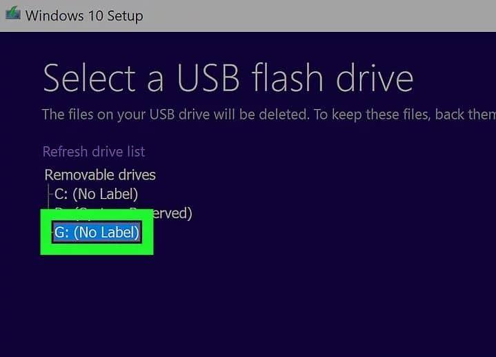 مرحله 12 استفاده از ابزار نصب ویندوز 10