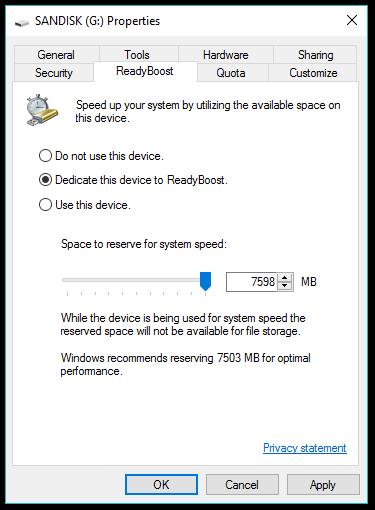 افزایش رم لپ تاپ با فلش