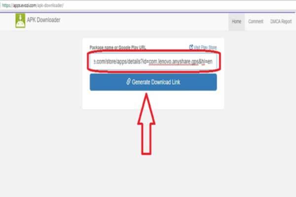 دانلود فایل apk از گوگل پلی