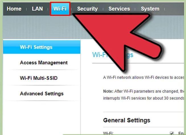 مرحله 2 اضافه کردن رمز ورود  به WiFi