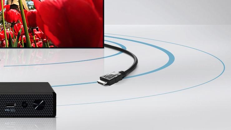 اتصال تلویزیون به گیرنده یا نوار صدا