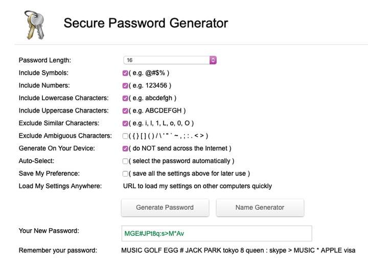 از رمزهای عبور قوی استفاده کنید