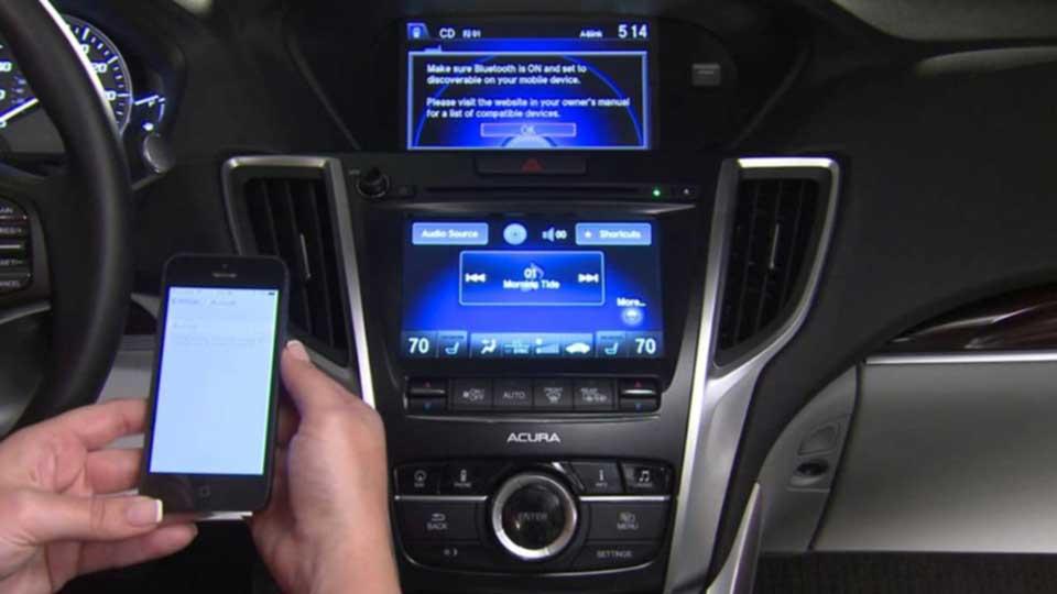 اتصال گوشی به ضبط خودرو