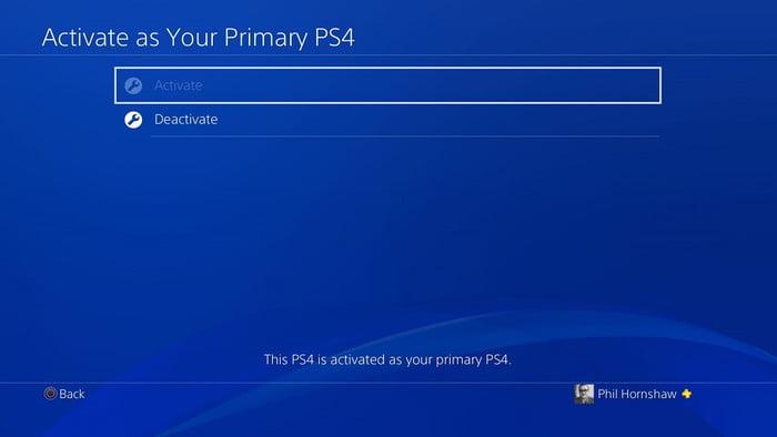 PlayStation خود را غیرفعال کنید