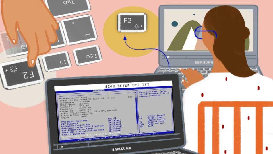 دلایل  آپدیت BIOS