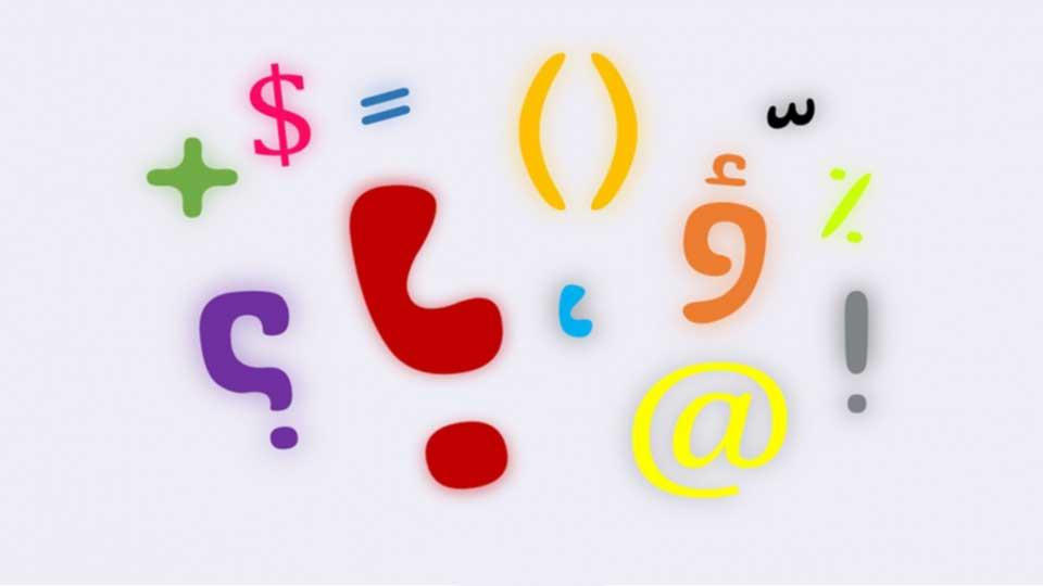 تایپ حرف فارسی