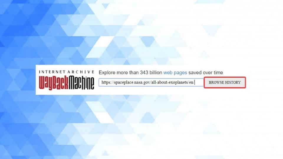 تاریخ انتشار صفحات وب