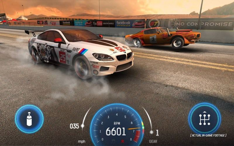 بازی Nitro Nation Drag Racing