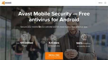 آنتی ویروس Avast Mobile Security
