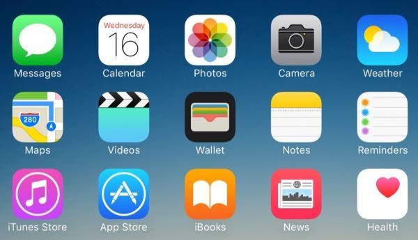 نحوه حذف اپلیکیشن در iPhone  iPad یا iPod touch