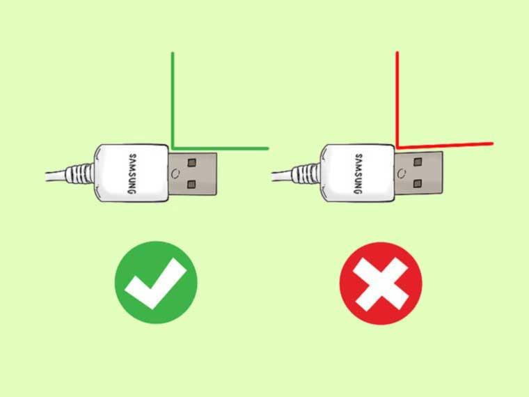 تشخیص شارژر اصلی سامسونگ - مرحله اول ارزیابی کیفیت
