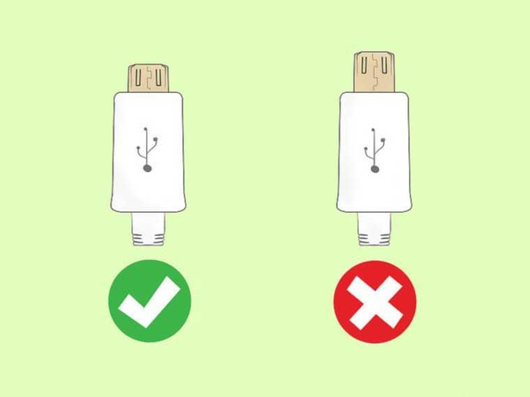 تشخیص شارژر اصلی سامسونگ - مرحله چهارم بررسی خروجی USB