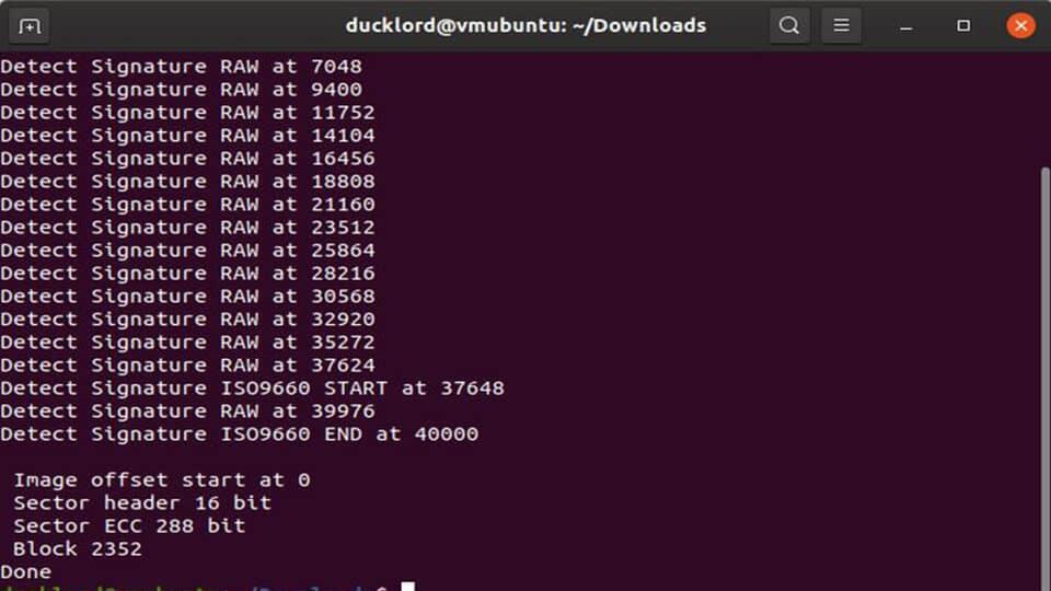 تبدیل فایل IMG به ISO در لینوکس