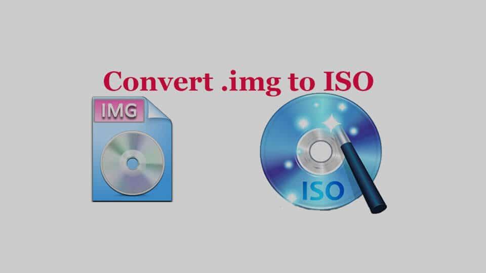 تبدیل فایل IMG به ISO