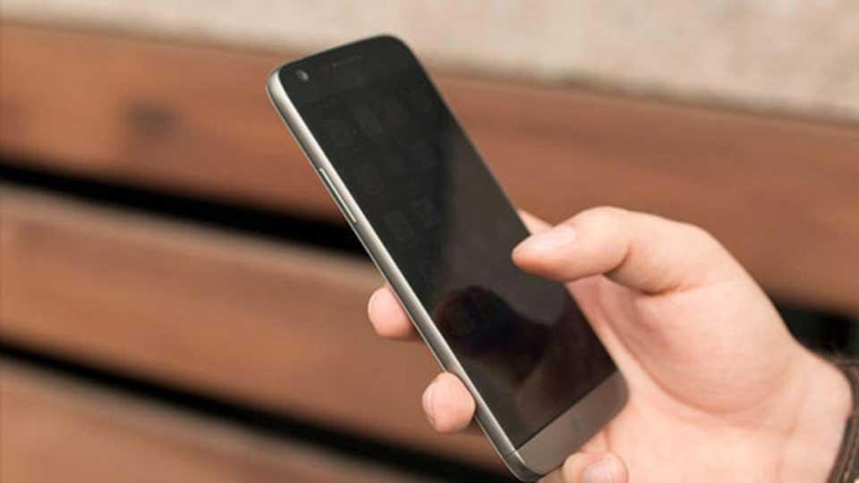 خرابی صفحه نمایش گوشی