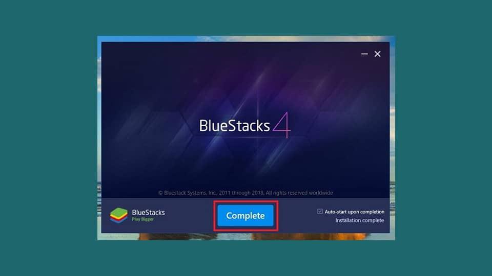 نصب BlueStacks