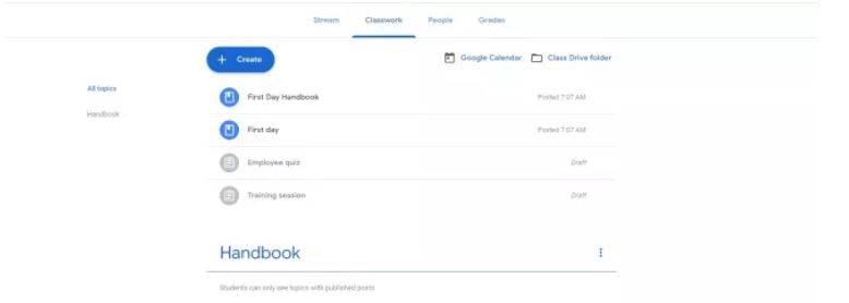 بررسی ابزار های گوگل برای کلاس آنلاین