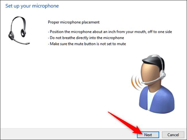 تصویر 5 میکروفن ویندوز 10