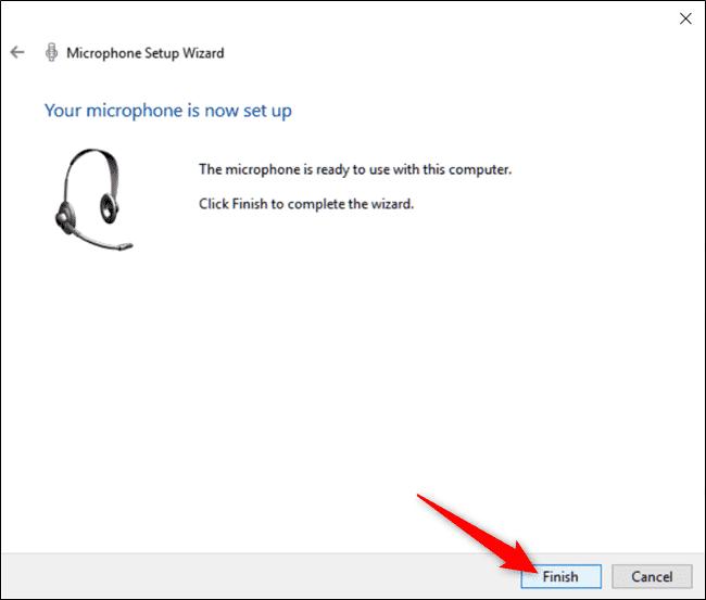تصویر 7 میکروفن ویندوز 10