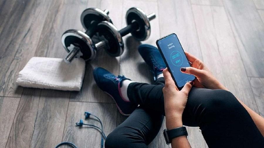 اپلیکیشن ورزش در خانه