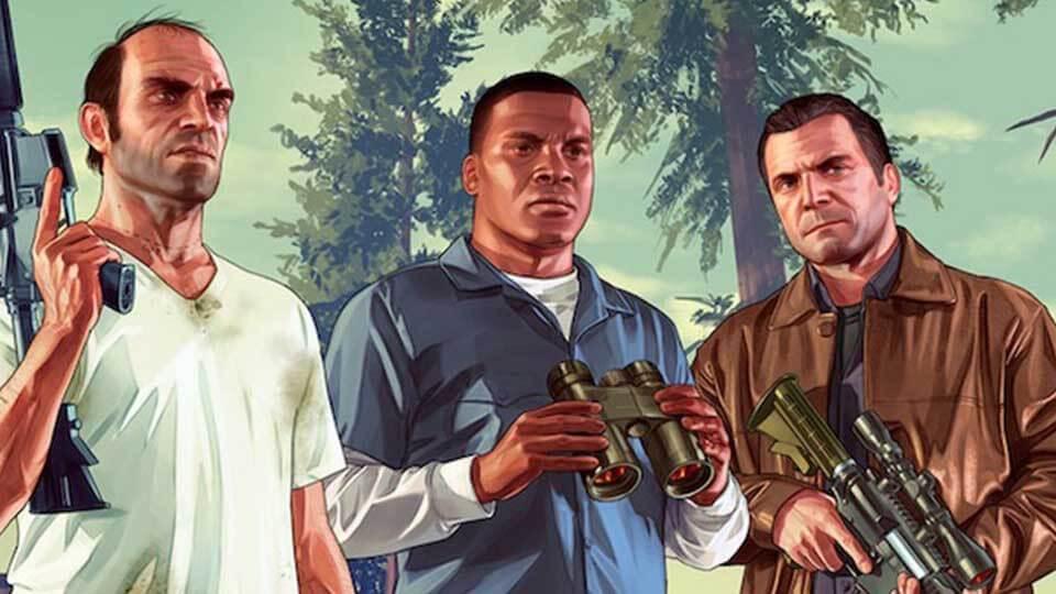 Grand Theft Auto 5 enhanced