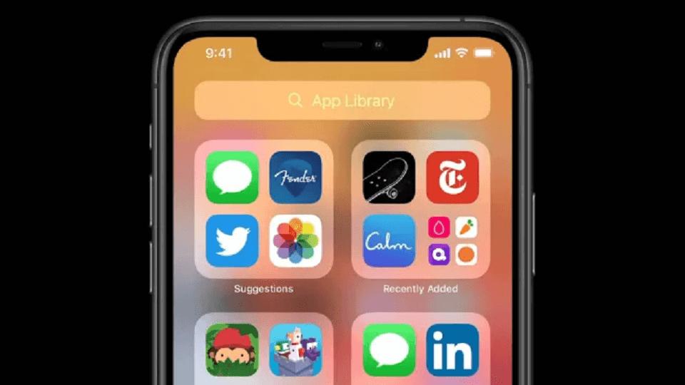 iOS 14 library