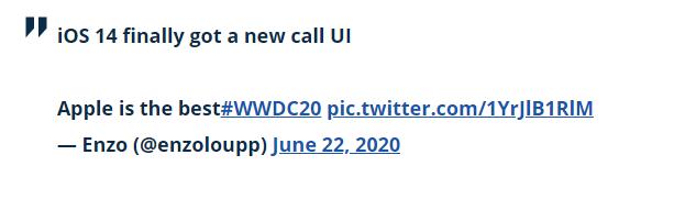 ویژگی iOS 14 : صفحه تماس جدید