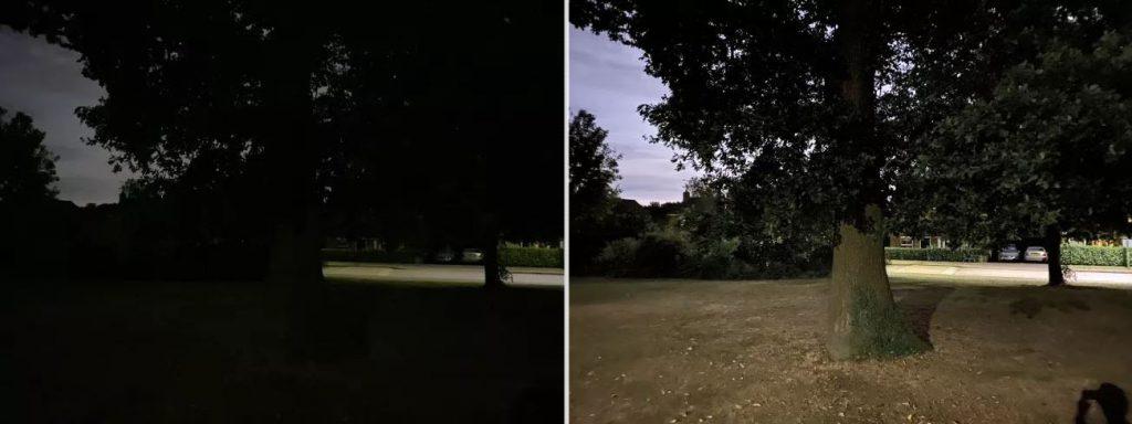 عکاسی در حالت شب در گوشی آیفون