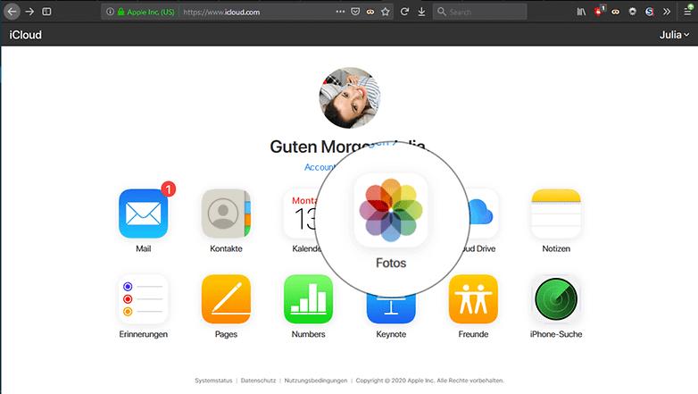 عکس ها را از طریق iCloud به رایانه ویندوز خود منتقل کنید : گام دوم