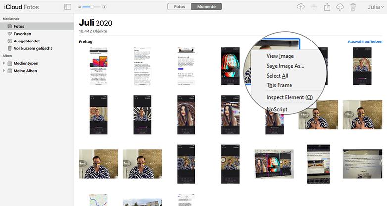 عکس ها را از طریق iCloud به رایانه ویندوز خود منتقل کنید : گام سوم