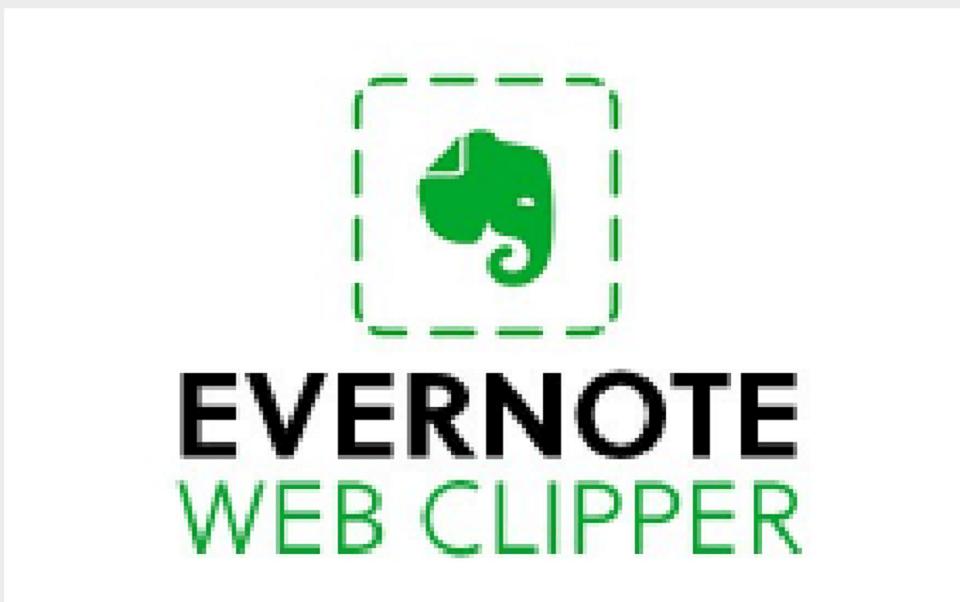 افزونه های کروم : Evernote Web Clipper