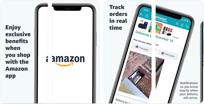 Amazon Shopping یک اپلیکیشن آیفون