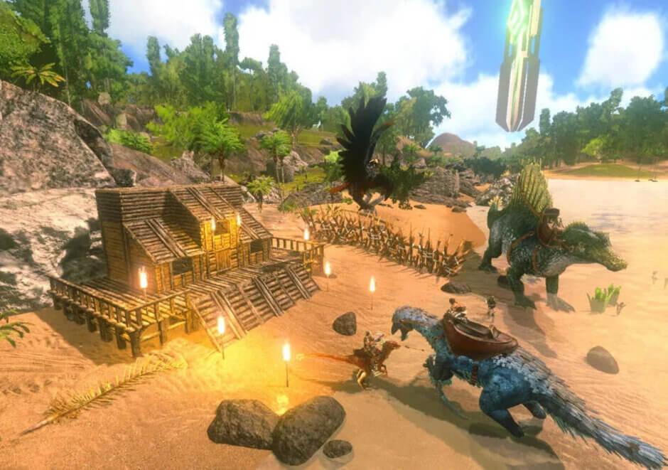 پرحجم ترین بازی های اندروید و ای او اس  ARK: Survival Evolved