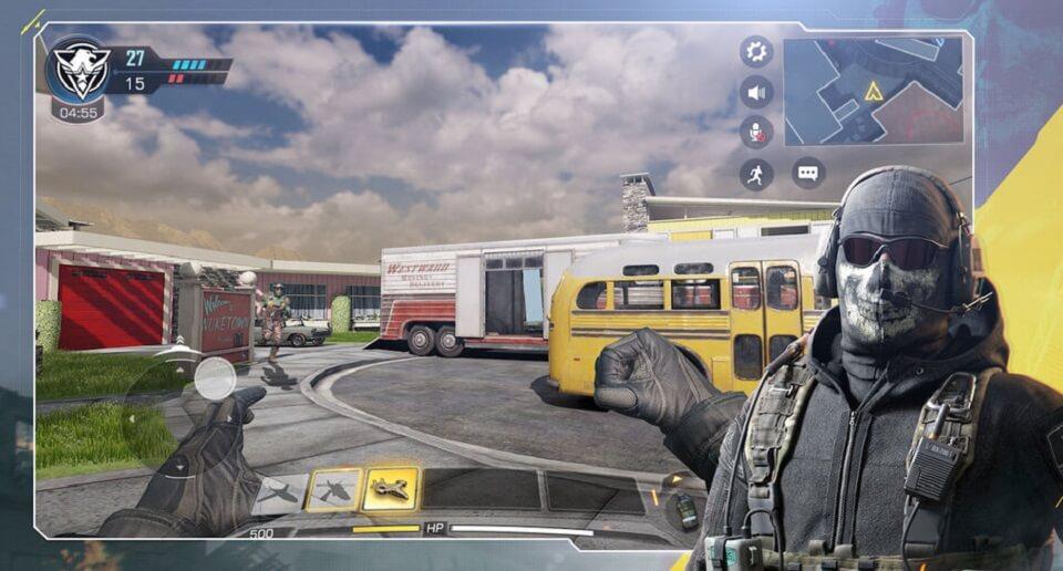 پرحجم ترین بازی های اندروید و ای او اس : بازی call of duty