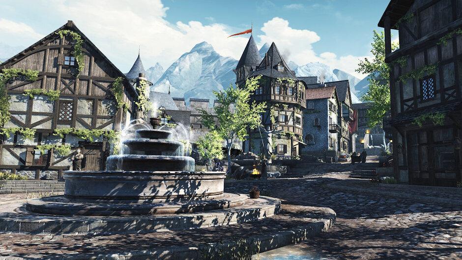پرحجم ترین بازی های اندروید و ای او اس  The Elder Scrolls: Blades